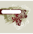 7floral line 86 2 vector image vector image