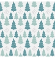 Abstract Color Christmas tree seamless pattern vector image vector image