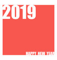 abstract coral color 2019 year background vector image vector image