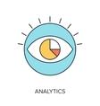 Analytics vector image vector image