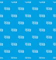 avail credit pattern seamless blue vector image vector image