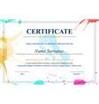 Creative certificate appreciation award