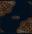 decorative mandala ethnic pattern premium vector image
