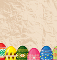 easter paper back vector image vector image