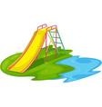 Empty playground vector image