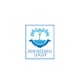 fountain-logo vector image