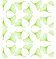 Ginkgo biloba leaves seamless pattern vector image vector image