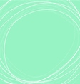 green mint circle background vector image vector image