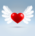 love wings vector image vector image