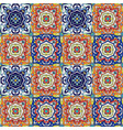 portuguese azulejo tiles blue and white gorgeous vector image