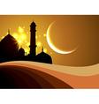 ramadan festival background vector image vector image