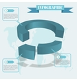 share infographics vector image vector image