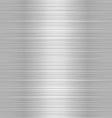shiny metallic steel plate vector image vector image