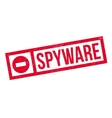Spyware rubber stamp vector image vector image