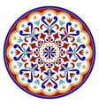vintage round mandala vector image vector image