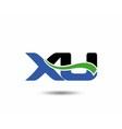 XU logo vector image vector image