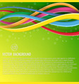 abstract modern clean dynamic template vector image vector image