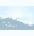 christmas and new year card template vector image vector image