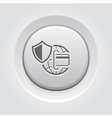 Global Safety Payment Icon vector image vector image