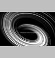 monochrome black and white color bright swirl vector image vector image