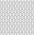 seamless pattern in black and white geometric vector image