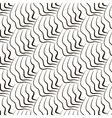 Simple repetition geometric lines pattern vector image