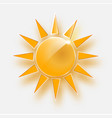 white background with sun burst effect vector image