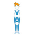 woman athlete weight lifting avatar vector image