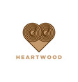 wood slices timber logo designs inspiration vector image