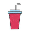 yummy and refreshment soda to drink vector image vector image