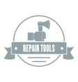 renovation tool logo vintage style vector image vector image