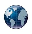 world map design design vector image vector image