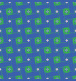 abstract polka dot grid shapes blue and green vector image vector image