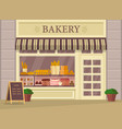 bakehouse building vector image