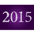 diamond 2015 purple vector image