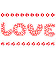 love for animals poster banner vector image vector image