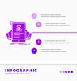 resume employee hiring hr profile infographics vector image vector image