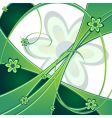 spring green background vector image vector image