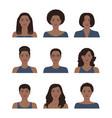 african american women vector image vector image