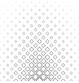 black and white abstract square pattern background vector image vector image