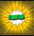 bright comic explosive background vector image