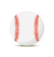 cartoon baseball ball american sport vector image