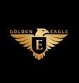 eagle logo vector image