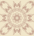floral seamless pattern element in vector image