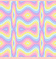 geometric striped seamless background pastel vector image
