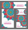 mandala pattern design template may be used for vector image vector image