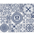 Moroccan tiles Seamless Pattern vector image vector image