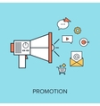 Promotion vector image vector image