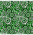 seamless abstract concentric circle pattern vector image