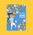 soccer football sport activity vector image